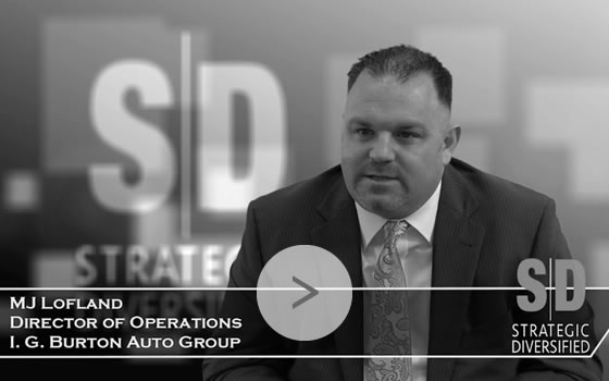 MJ Lofland, Director of Operations, I. G. Burton Auto Group